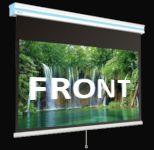 Фронтална прожекция - Ролетни ръчни екрани