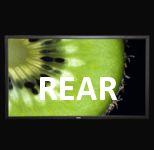 Задна прожекция - Рамкови фиксирани екрани
