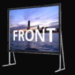 Фронтална прожекция - мобилни екрани