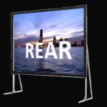 Задна прожекция - мобилни екрани